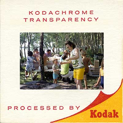 Kodachrome slide scan