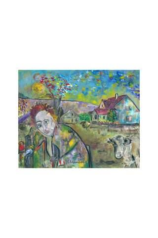 """Memories on the Farm"" 16 x 20"" Giclee canvas print by Brant Adamson"