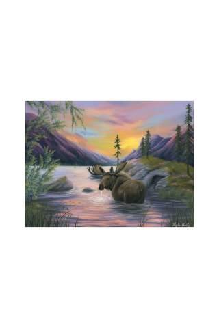 """""""His Majesty"""" 12 x 16"""" Giclee canvas print by Kayla Goetz"""