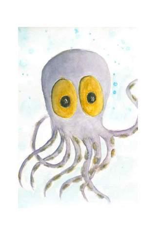 """Octavious"" 8 x 10"" Giclee print by Jen Shaw"