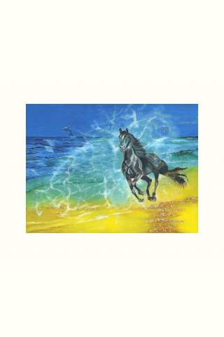 """""""Freedom"""" 12 x 16"""" Giclee print by Suzanne Daley"""