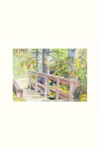"""""""Time for a Break"""" 11 x 14"""" Giclee print by Tina Mueller"""