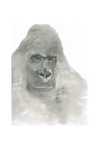 """""""Gone Ape"""" 8 x 10"""" Giclee print by Jen Shaw"""