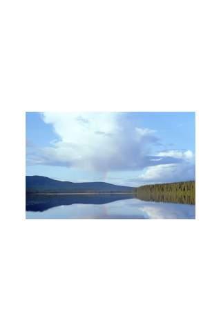 """Rainbow Lake"" by Miles Parenteau"