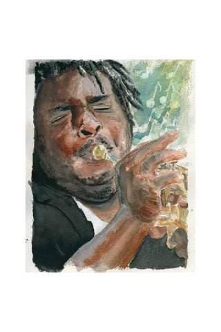 """""""Jazz"""" 8 x 10"""" Giclee print by Jason Petkau"""