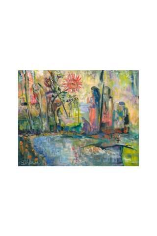 """Gathering"" 24 x 30"" Giclee canvas print by Brant Adamson"