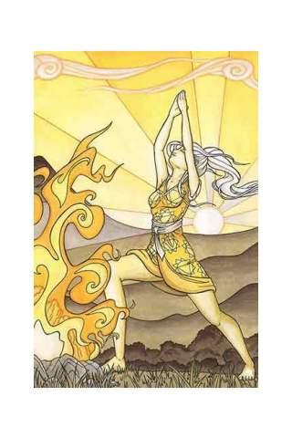 """Sunrise"" 8 x 10"" Giclee print by Maggie Lasko"
