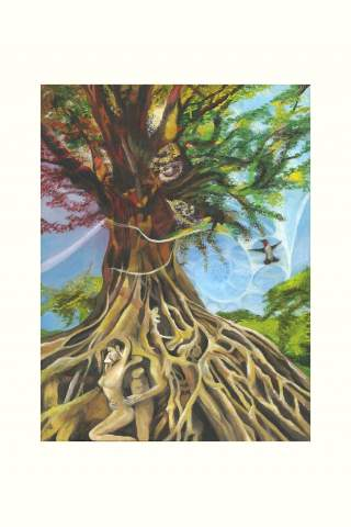 """""""Roots"""" print 12 x 16"""" Giclee print by Suzanne Daley"""