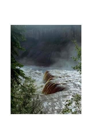 """Alexandra Falls 2"" by Miles Parenteau"