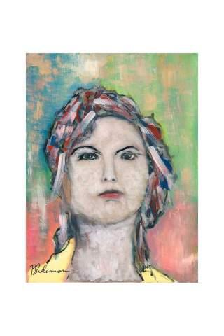 """Spirit Guide"" 18 x 24"" Giclee print by Brant Adamson"