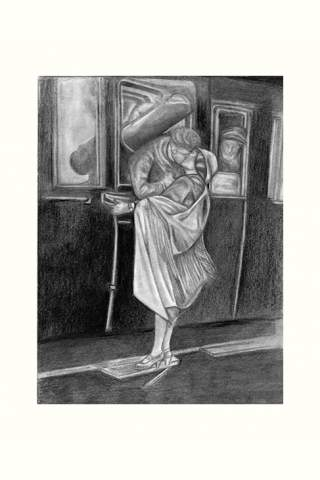 """True Love's Kiss"" 9 x 12"" Giclee print by Kaylene Striker"