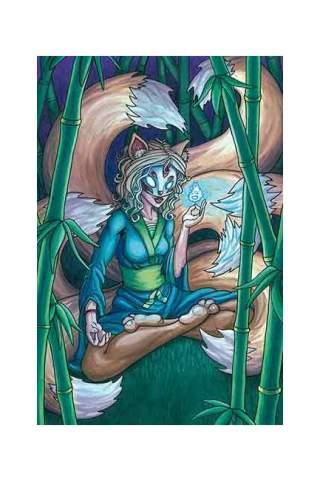 """Meditate"" 8 x 10"" Giclee print by Maggie Lasko"