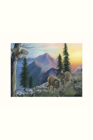 """""""Highest of Heights"""" 12 x 16"""" Giclee canvas print by Kayla Goetz"""