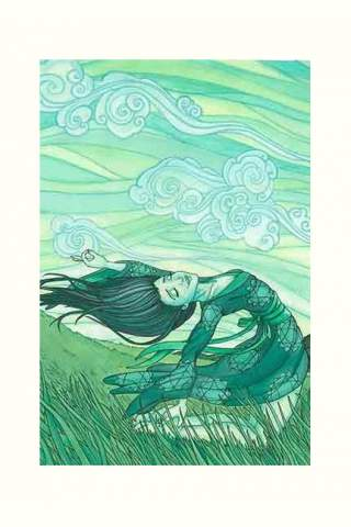 """Wind Sweep"" 8 x 10"" Giclee print by Maggie Lasko"