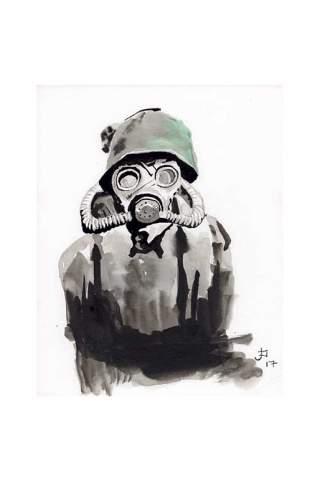 """""""Pandemic Ready"""" 8 x 10"""" Giclee print by Jason Petkau"""