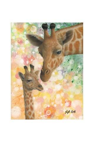 """Loved"" 12 x 16"" Giclee canvas print by Kayla Goetz"