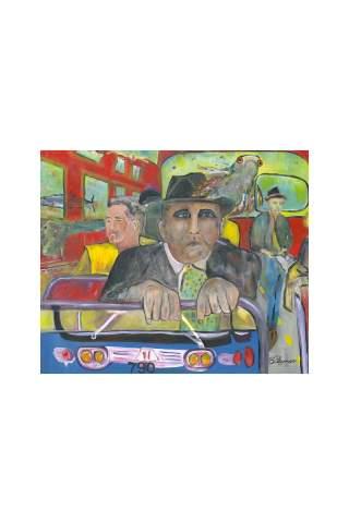 """Where Am I?"" 24 x 30"" Giclee canvas print by Brant Adamson"