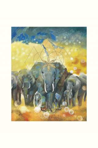 """""""Family Matters"""" 16 x 20"""" Giclee print by Suzanne Daley"""