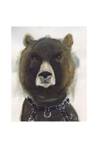 """Hangry"" 8 x 10"" Giclee print by Jason Petkau"