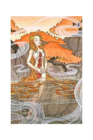 """""""Zen"""" 8 x 10"""" Giclee print by Maggie Lasko"""