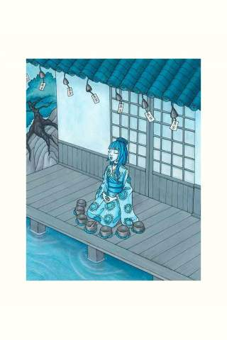 """Mindfulness"" 8 x 10"" Giclee print by Maggie Lasko"